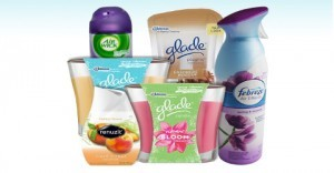 Sign up for free Glade scented samples!