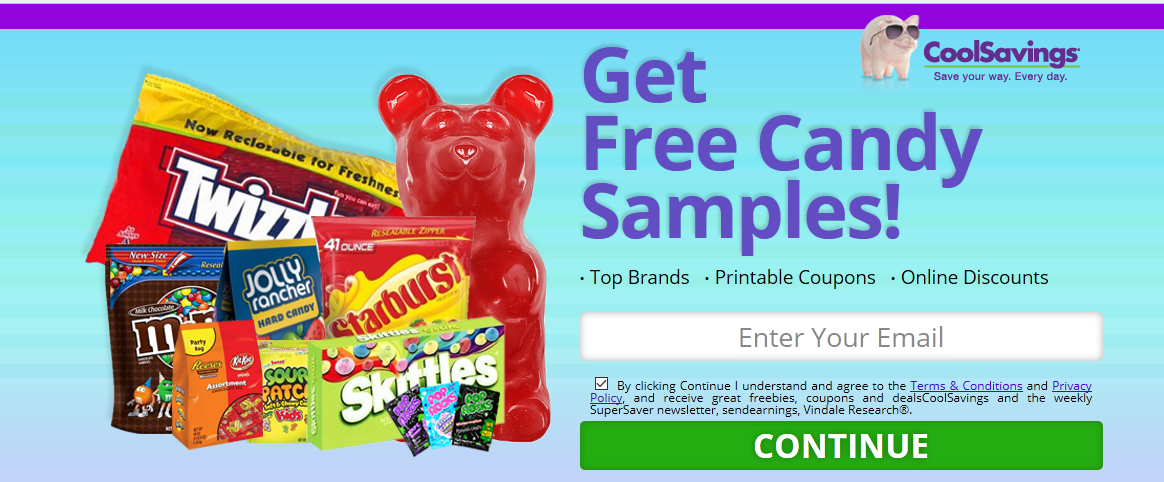 Free Samples of Candy