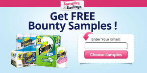 Free Samples of Bounty Napkins